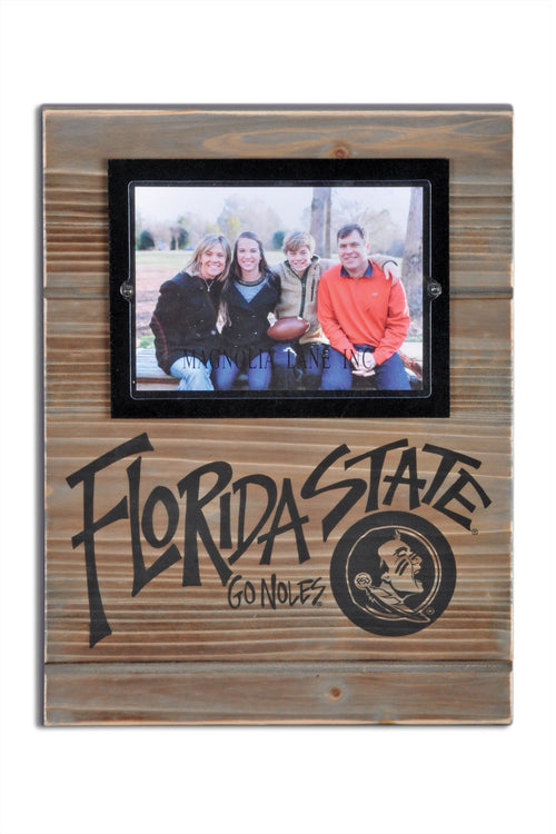 Florida State University Wood Plank Frame