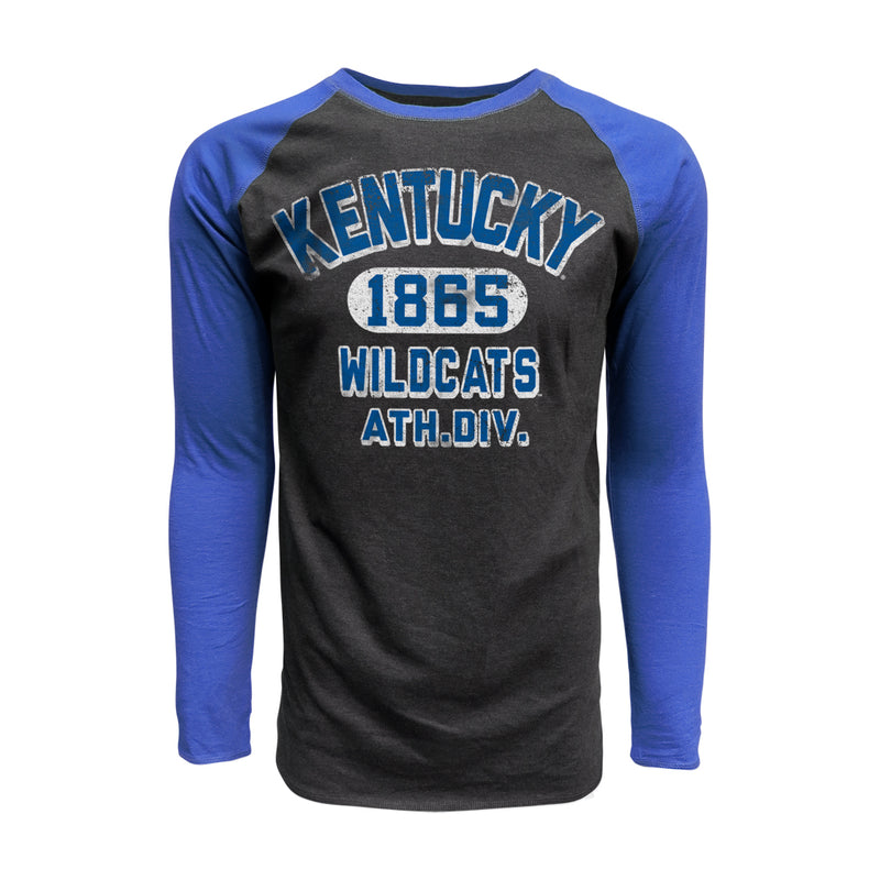University of Kentucky Contrast Long Sleeve Tee