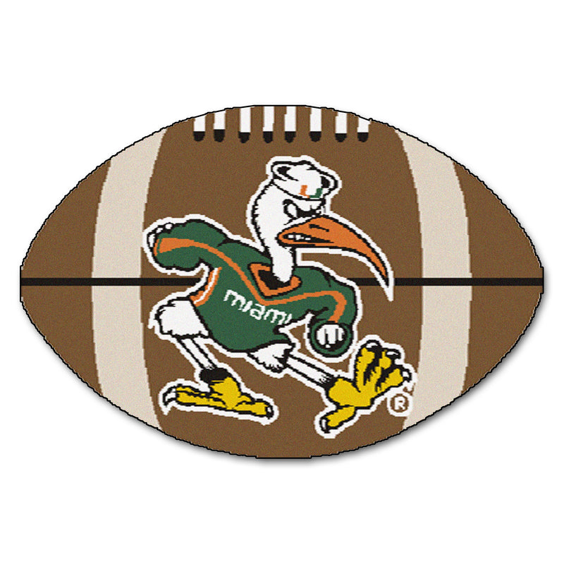 University of Miami Hurricanes Football Area Rug