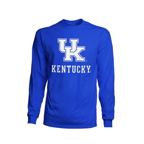 University of Kentucky Basic Blue Long Sleeve Tee