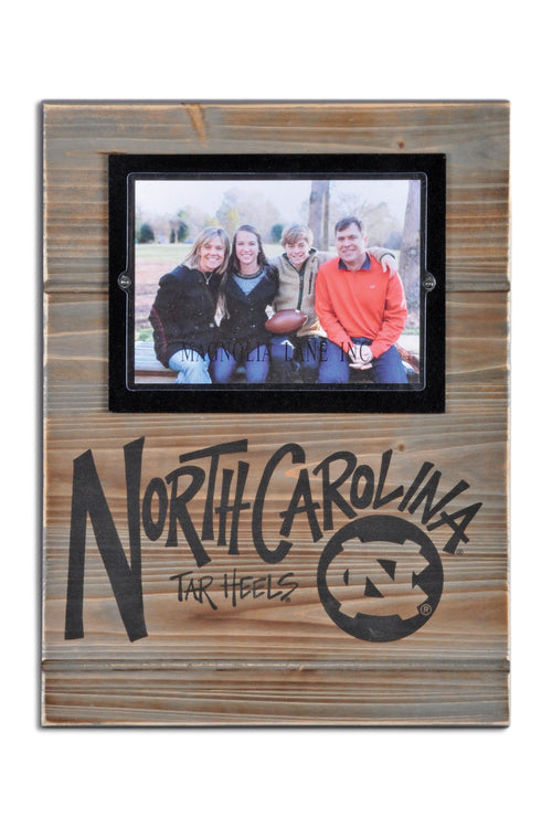 University of North Carolina Wood Plank Frame
