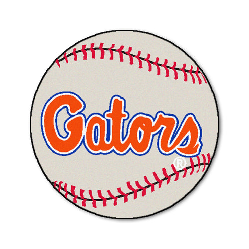 University of Florida Baseball Area Rug