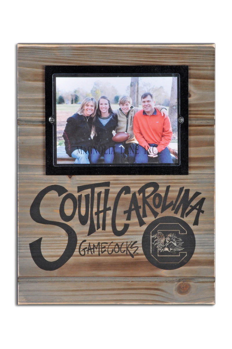 University of South Carolina Wood Plank Frame