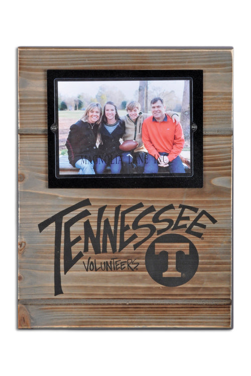 University of Tennessee Wood Plank Frame