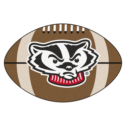 University of Wisconsin Badgers Football Area Rug