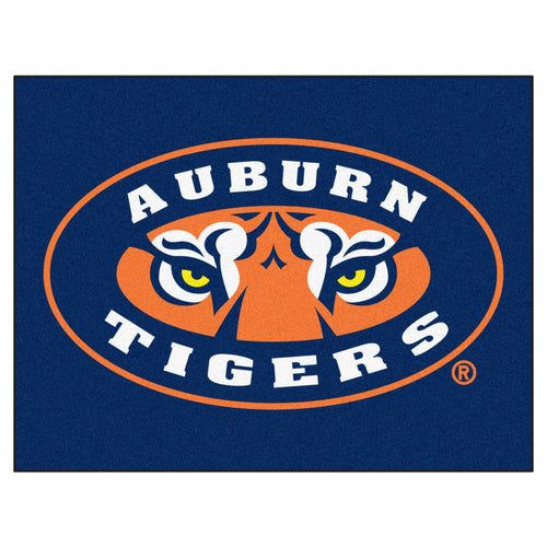 Auburn University Tigers 5' x 6' Logo Area Rug