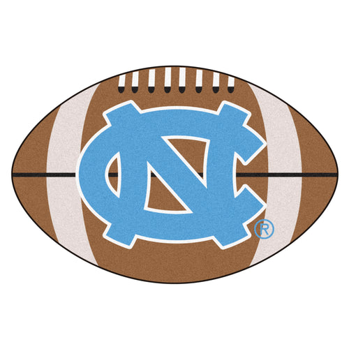 University of North Carolina Football Area Rug