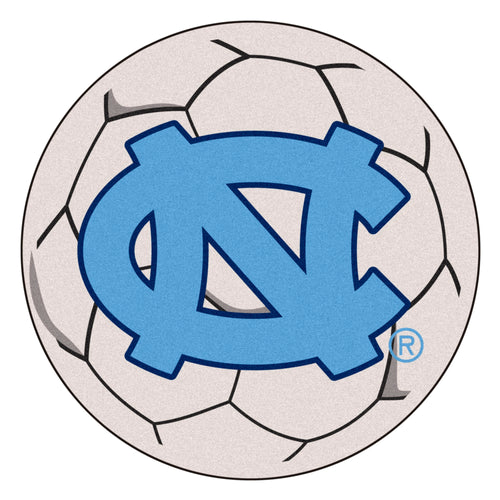 University of North Carolina Soccer Ball Rug
