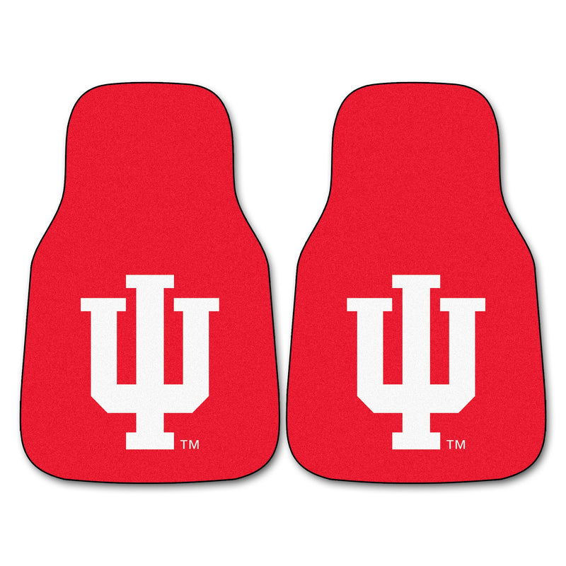 Indiana University Carpet Car Floor Mats - 2-Piece