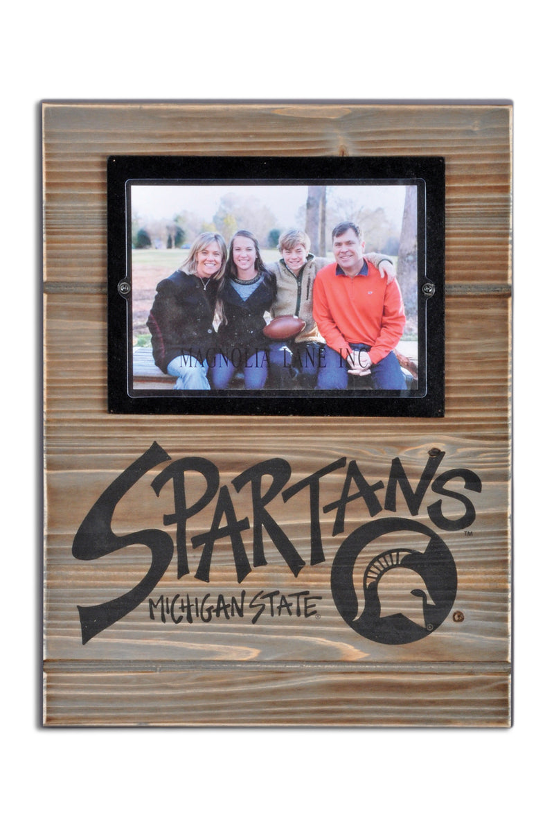 Michigan State University Wood Plank Frame