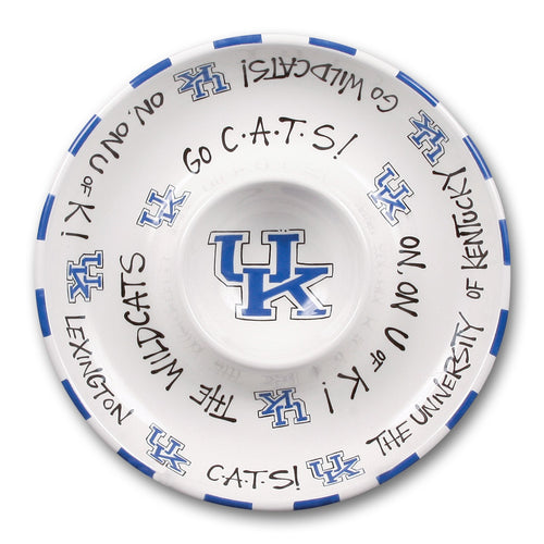 University of Kentucky Chip and Dip Platter