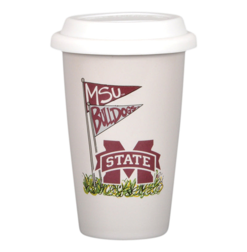 Mississippi State University 14oz Travel Mug