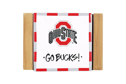 Ohio State University Coaster Set