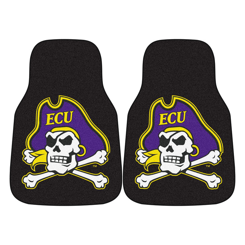 East Carolina University Carpet Car Floor Mats - 2-Piece