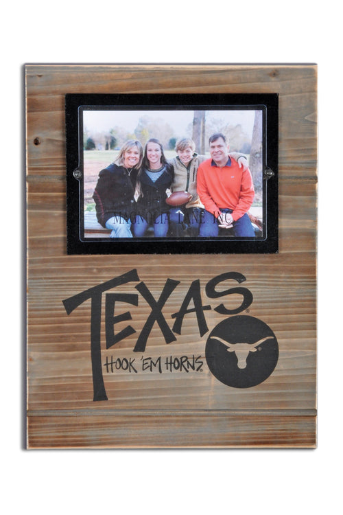 University of Texas Wood Plank Frame