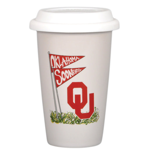 University of Oklahoma 14oz Travel Mug
