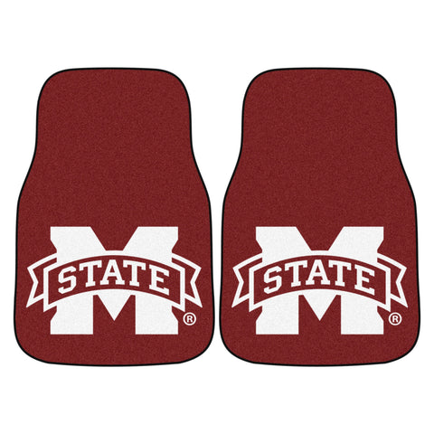 Mississippi State University Carpet Car Floor Mats - 2-Piece