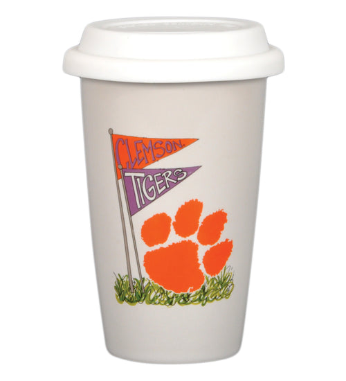 Clemson University 14oz Travel Mug