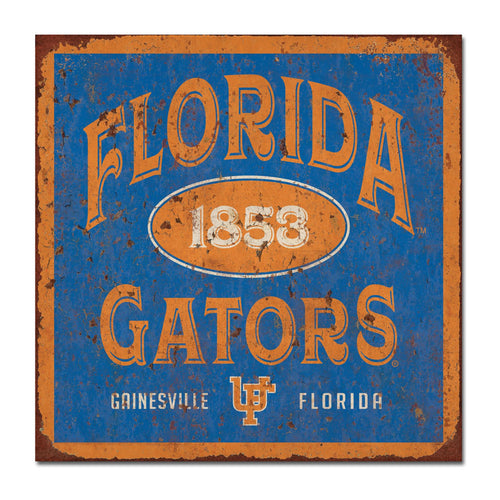 University of Florida Five & Dime Large Tin Sign