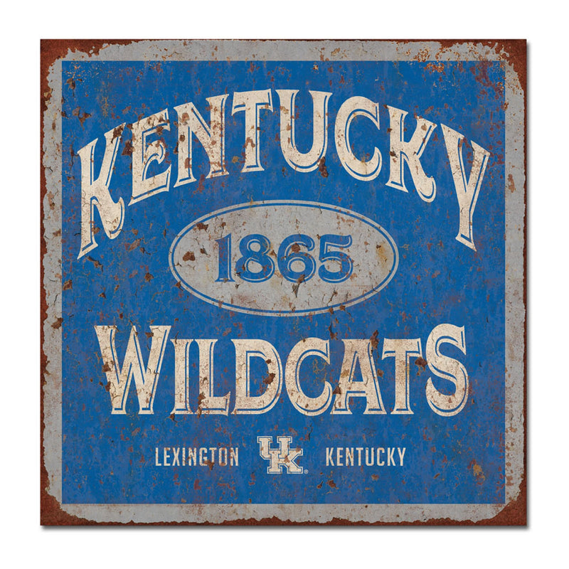University of Kentucky Five & Dime Large Tin Sign