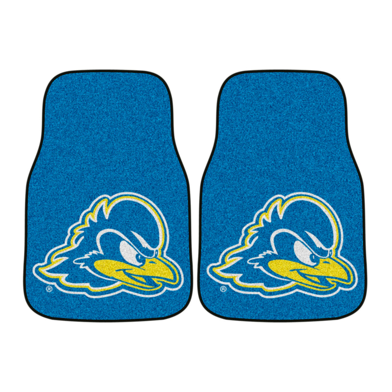 University of Delaware Carpet Car Floor Mats - 2-Piece