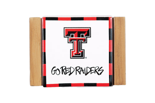 Texas Tech University Coaster Set