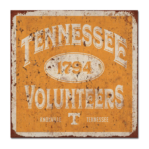 University of Tennessee Five & Dime Large Tin Sign
