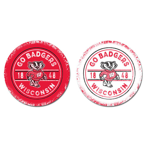 University of Wisconsin Sandstone Car Coasters