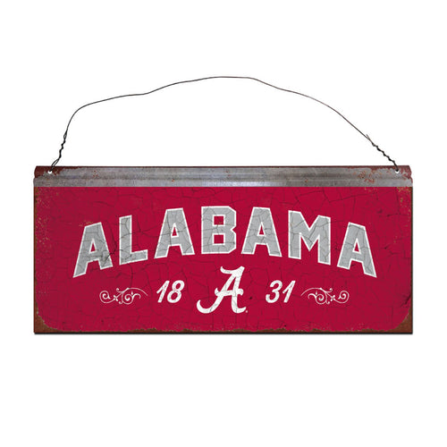 University of Alabama Small Tin Sign