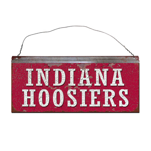 Indiana University Hoosiers Small Tin Sign