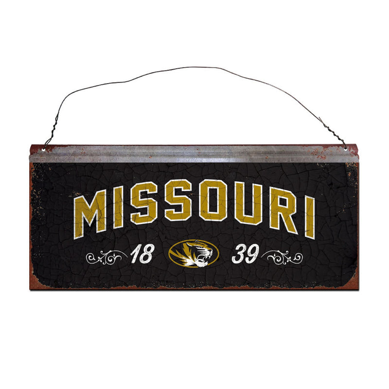 University of Missouri Small Tin Sign