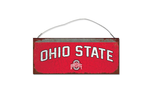 Ohio State University Small Tin Sign