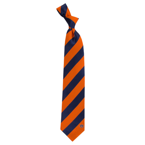 Auburn University Regiment Woven Silk Tie