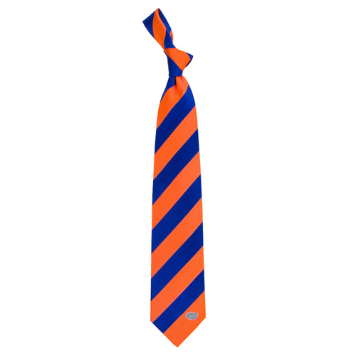 University of Florida Regiment Woven Silk Tie