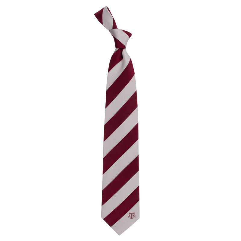 Texas A&M University Regiment Woven Silk Tie