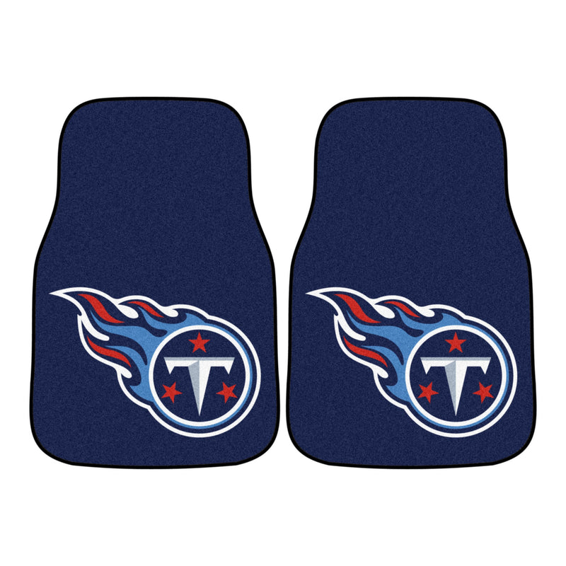Tennessee Titans Carpet Car Floor Mats (Set of 2)
