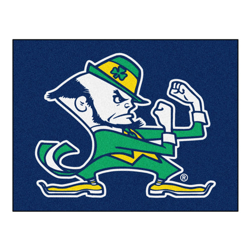 University of Notre Dame Fighting Irish Logo Area Rug