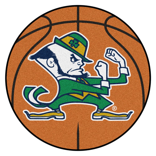 University of Notre Dame Fighting Irish Basketball Area Rug