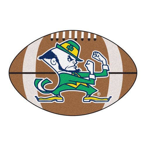 University of Notre Dame Fighting Irish Football Area Rug