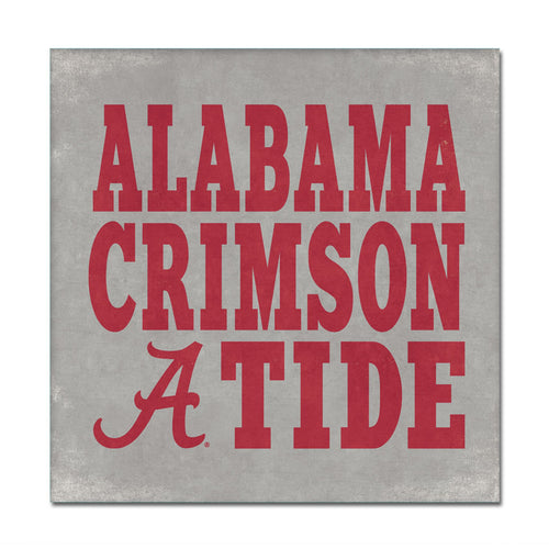 University of Alabama Canvas Wall Art