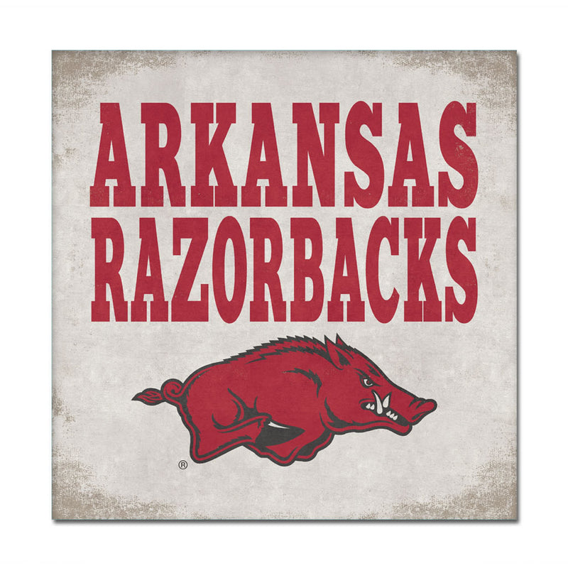 University of Arkansas Canvas Wall Art