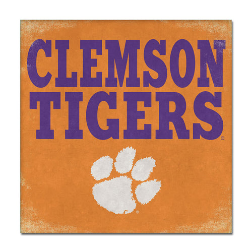 Clemson University Canvas Wall Art