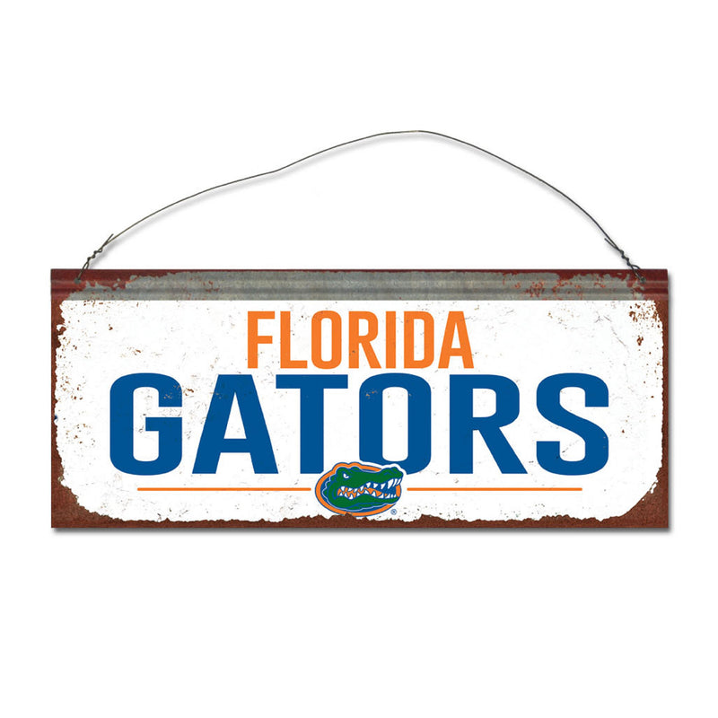 University of Florida Small White Sign