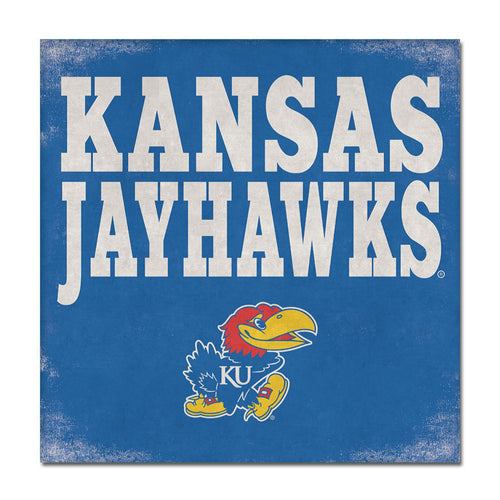 University of Kansas Canvas Wall Art