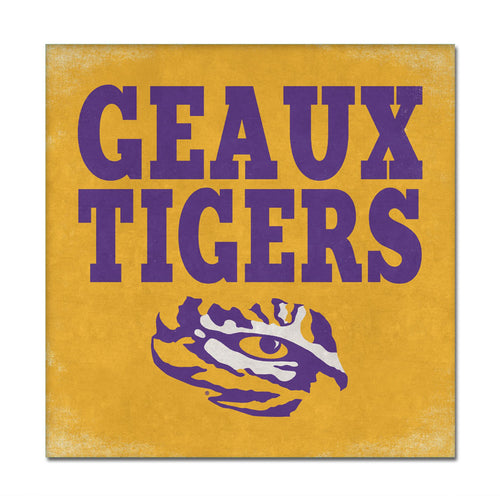 Louisiana State University Canvas Wall Art