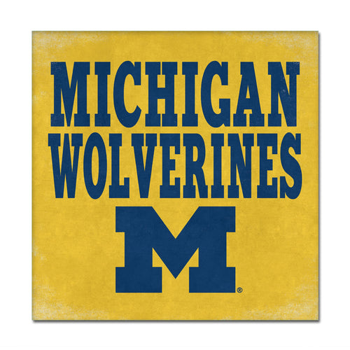 University of Michigan Canvas Wall Art