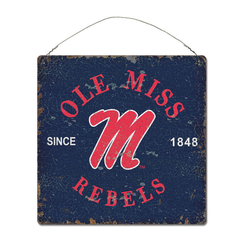 University of Mississippi Around Campus Sign