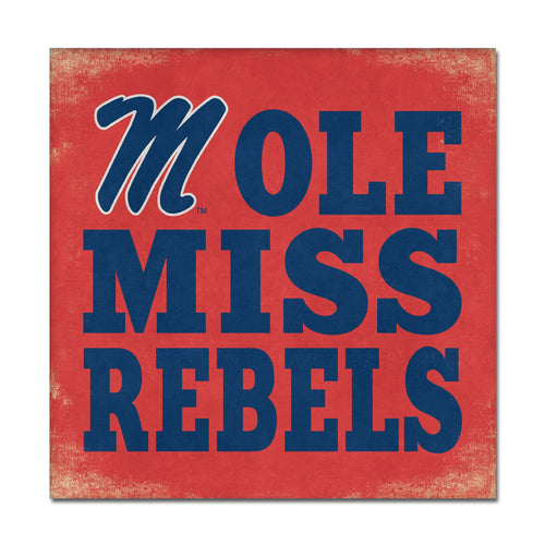University of Mississippi Canvas Wall Art