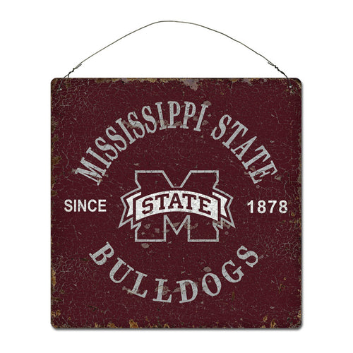 Mississippi State University Around Campus Sign