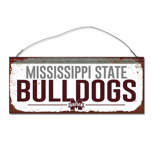Mississippi State University Small White Sign